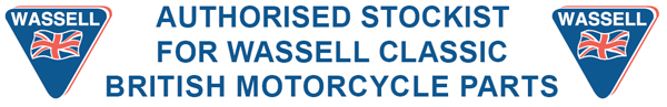 Authorised stockist for Wassell classic british motorcycle parts